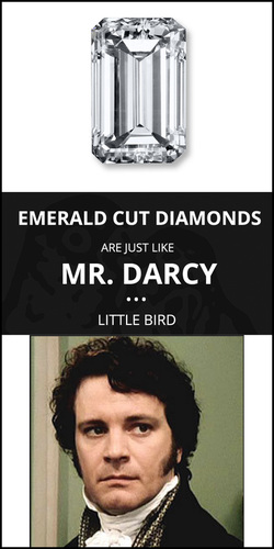 How to Pick an Emerald Cut Engagement Ring - LITTLE BIRD