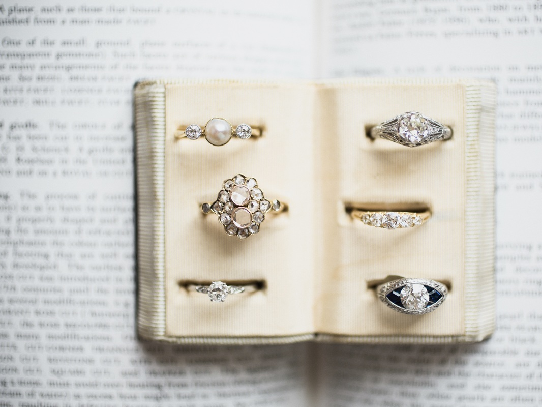Antique Engagement Rings, Victor Barbone & LITTLE BIRD